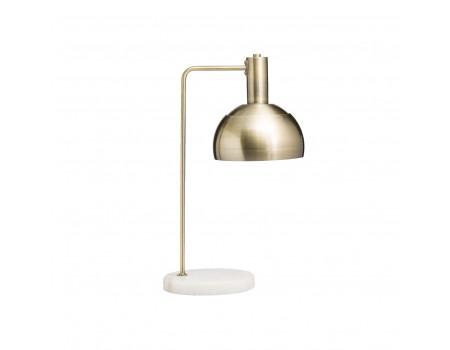 Metal & Marble Table Lamp