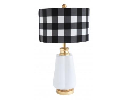 Linen Checkered Shade