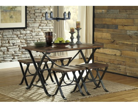 Freimore - Rectangular Dining Room Table Set (5/CN)