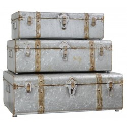 IRON CHEST (Set of 3)