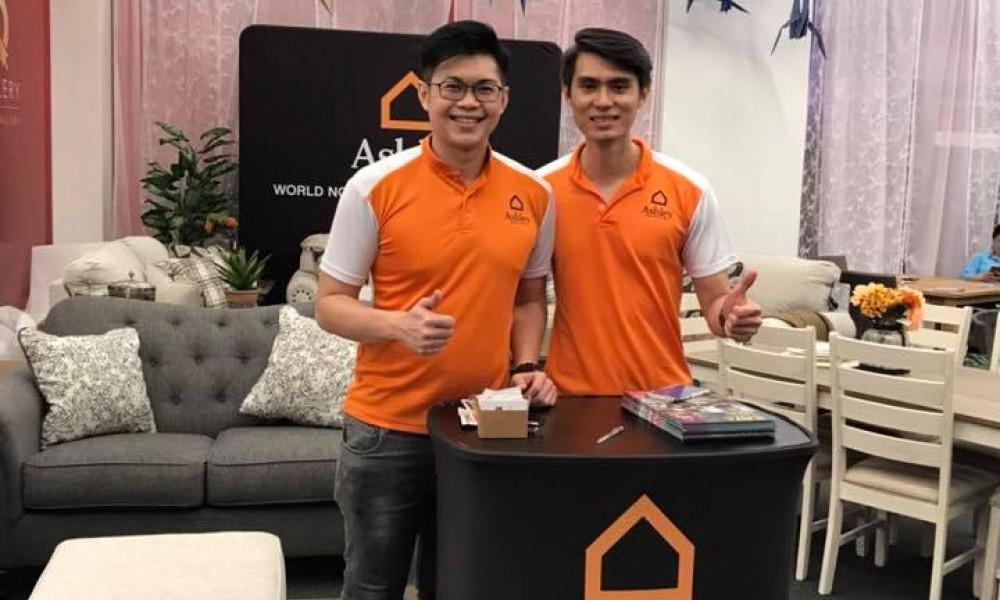 Ashley Furniture HomeStore Malaysia - Queensbay Mall Roadshow
