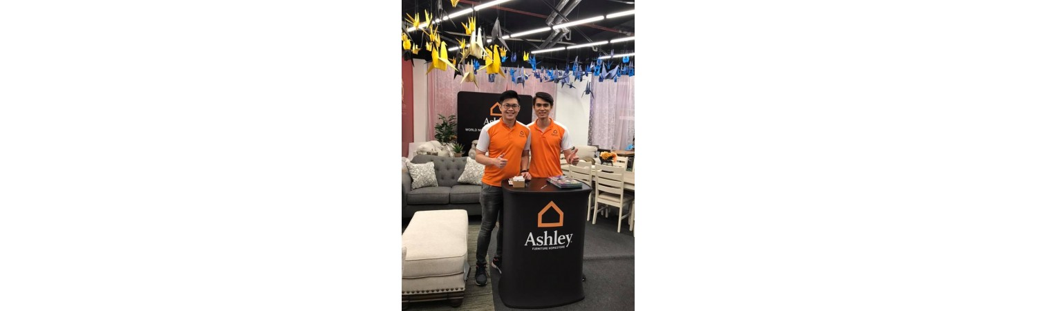Ashley Furniture HomeStore Malaysia - Queensbay Mall Roadshow